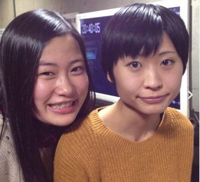 猫塾(左)田辺智加さん(右)酒寄さん